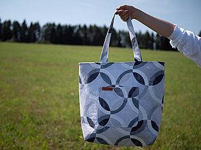 Veľké tašky - Madam (Čierno-biela) - 11444471_