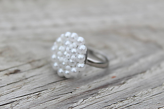 Prstene - snow white prsteň - 11446399_