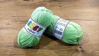 Galantéria - Baby Original (21 - pastelová zelená) - 11447923_