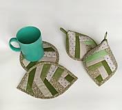 Úžitkový textil - Sada chňapiek - 11446395_