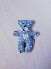 Hračky - #Macko, hračka (Modrá) - 11447612_