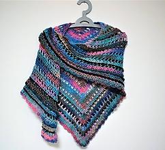 Šatky - Háčkovaný šátek 2108 - 11445444_