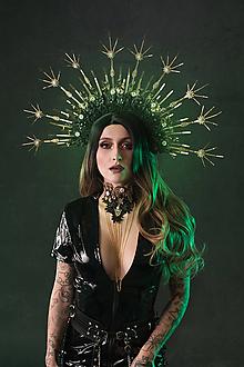 Náhrdelníky - Čipkovaný čierny Choker náhrdelník s retiazkou - 11446222_