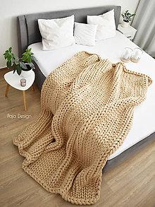 Úžitkový textil - Maxi merino deka 200x220 cm - vlna standard - 11446103_