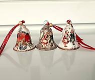 Dekorácie - vianočné zvončeky - 11446118_