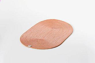 Úžitkový textil - Běhoun oranžový - 11450793_