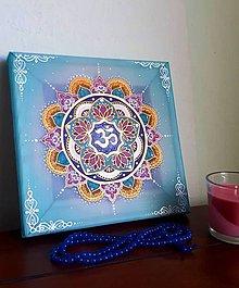 Dekorácie - Mandala Pokojnej mysle - 11448508_
