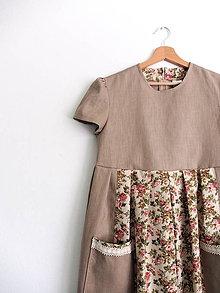 Šaty - Šaty ako z vidieka na želanie - 11449773_