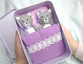 Hračky - Rozprávková krabička (Mačičky) - 11449264_