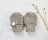 Detské doplnky - Rukavičky pre bábätko - 11449671_
