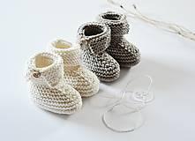 Topánočky - Papučky pre bábätko - 11449701_