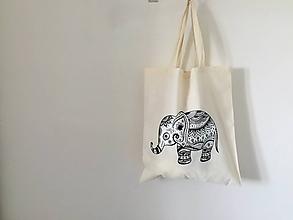 """Nákupné tašky - EKO taška """"safari"""" - 11448856_"""