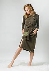 - Dvojdielne zelené šaty - 11448825_
