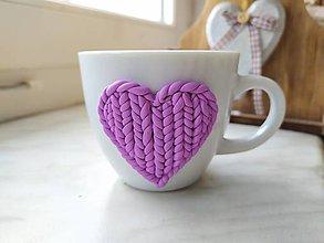 Nádoby - Valentínsky pohárik - 11449625_
