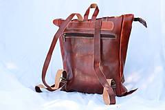 Batohy - Eritrea - kožený ruksak - 11450962_