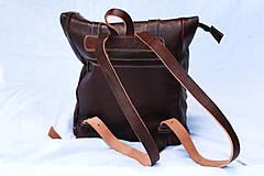 Batohy - Maroko - kožený ruksak - 11450986_