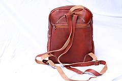 Batohy - Maurícius - kožený ruksak - 11450998_