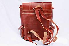 Batohy - Zambia - kožený ruksak - 11451018_