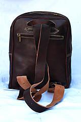 Batohy - Kamerun - kožený ruksak - 11451043_