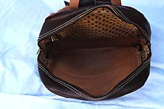 Batohy - Kamerun - kožený ruksak - 11451046_