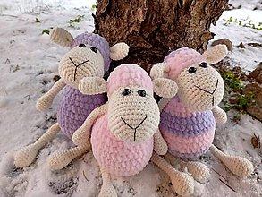 Hračky - Roztomilé malé ovečky - 11452021_