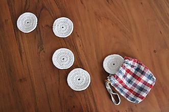 Úžitkový textil - Odličovacie tampóny - 11452611_