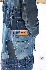 """Kabáty - kabát """"recy-jeansový"""" - 11451816_"""