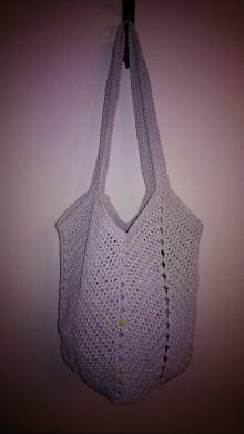 Iné tašky - Háčkovaná taška - 11451291_