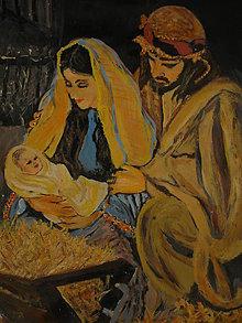 Obrazy - Vitaj, náš Ježiško narodený - 11453389_