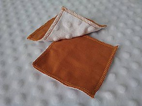 Úžitkový textil - Eko odličovacie tampóny Minky & bavlna - 11452110_