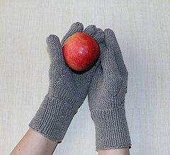 Rukavice - Najvyrukavičkovanejšie 5-prstové merino rukavice - 11456062_