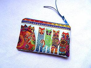 Taštičky - Color Cats ... taštička malá - 11456928_