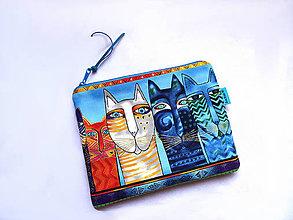 Taštičky - Color Cats ... taštička - 11456932_