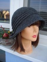 Čiapky - tvarovaný klobučik - 11454989_