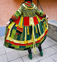 Svetre/Pulóvre - lel ,,maxi patchwork sveter ,,Paťa - 11454625_
