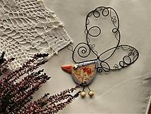 Dekorácie - Vtáčik - 11454633_