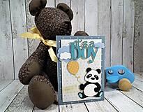 Papiernictvo - Panda pohľadnica - 11454710_