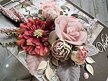 Papiernictvo - Ružová záhrada pohľadnica - 11454735_
