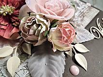 Papiernictvo - Ružová záhrada pohľadnica - 11454736_