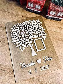 Dekorácie - Svadobný strom 100 ľudí - 11454689_