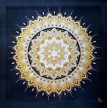 Obrazy - Mandala...Žiariš v temnote - 11454758_