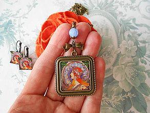 Sady šperkov - Secesná dáma - 11456731_