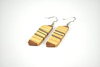 Náušnice - Náušnice drevené - chirurgická oceľ, jaseň, javor, orech, mahagón... - 11456882_