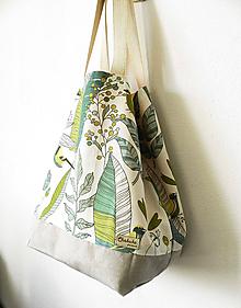 Veľké tašky - Vrecotaška tropical - 11456579_