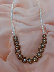 Náhrdelníky - náhrdelník z riečnych perál - 11456435_