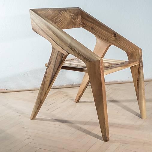 Nábytok - Dizajnová stolička - 11456011_