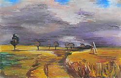 Obrazy - Krajina po búrke - 11456815_