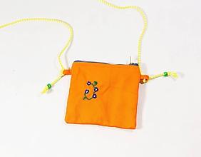 Detské tašky - Dievčenská vyšívaná kabelka - 11455169_