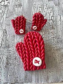 Sady šperkov - štrikovaná rukavica - sada (bez patentu) - 11455623_