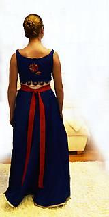 """Šaty - Spoločenské plesové šaty """"ako kysucký kroj"""" - 11459388_"""
